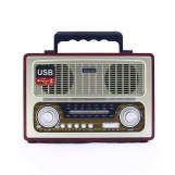 Kemai MD-1800BT Nostaljik Bluetooth USB-SD-FM Radyo